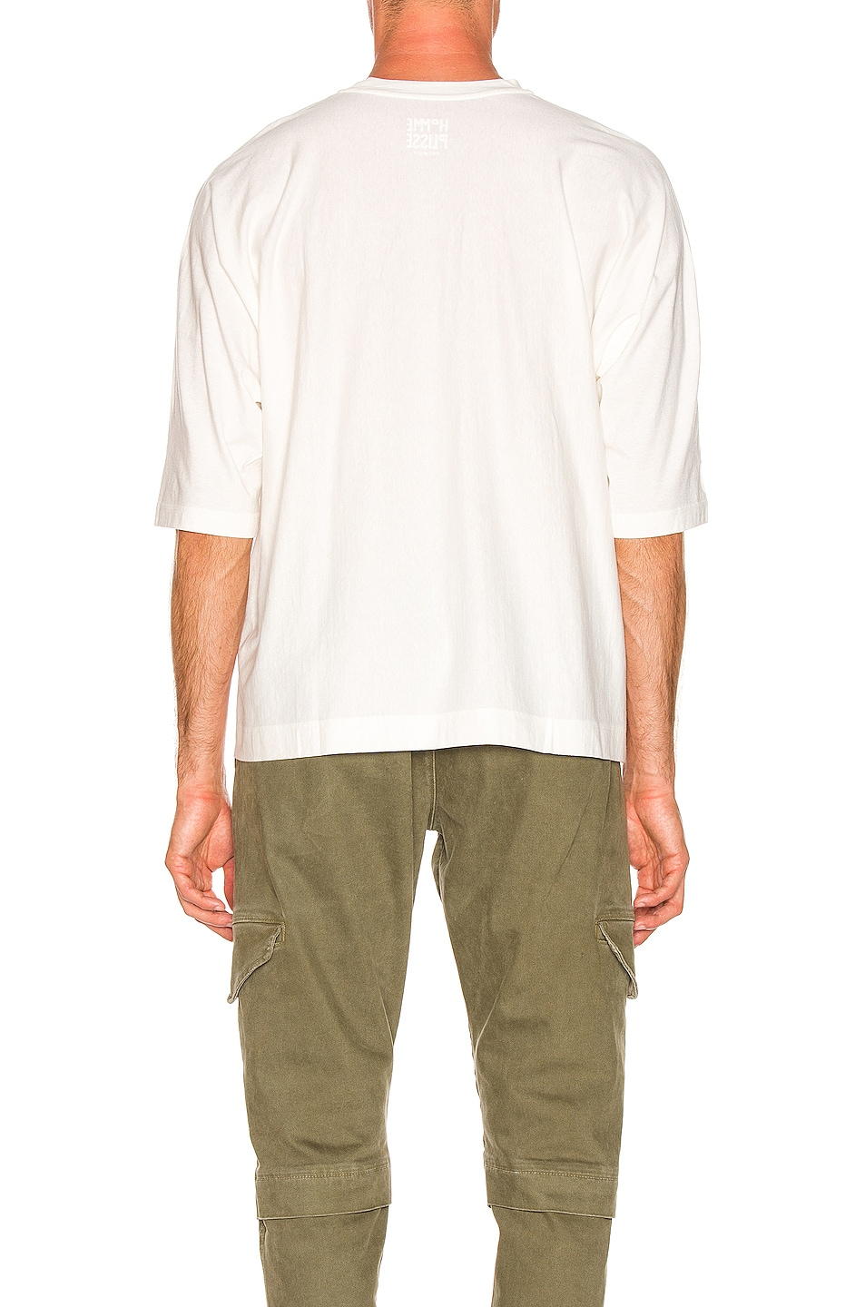 Image 3 of Issey Miyake Homme Plisse Release T in White