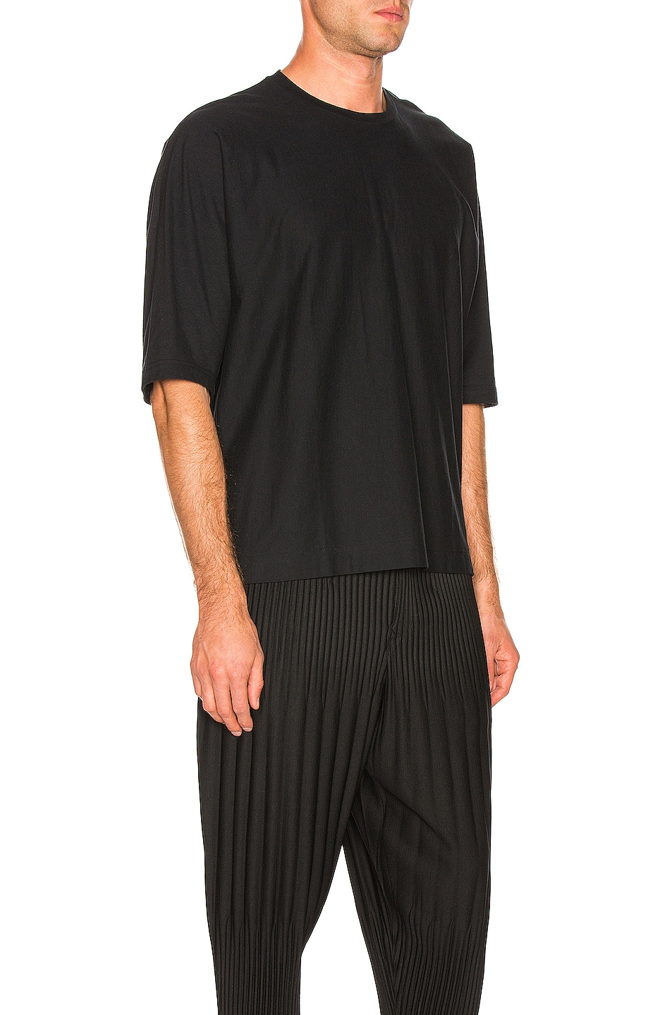 Image 2 of Issey Miyake Homme Plisse Release T in Black