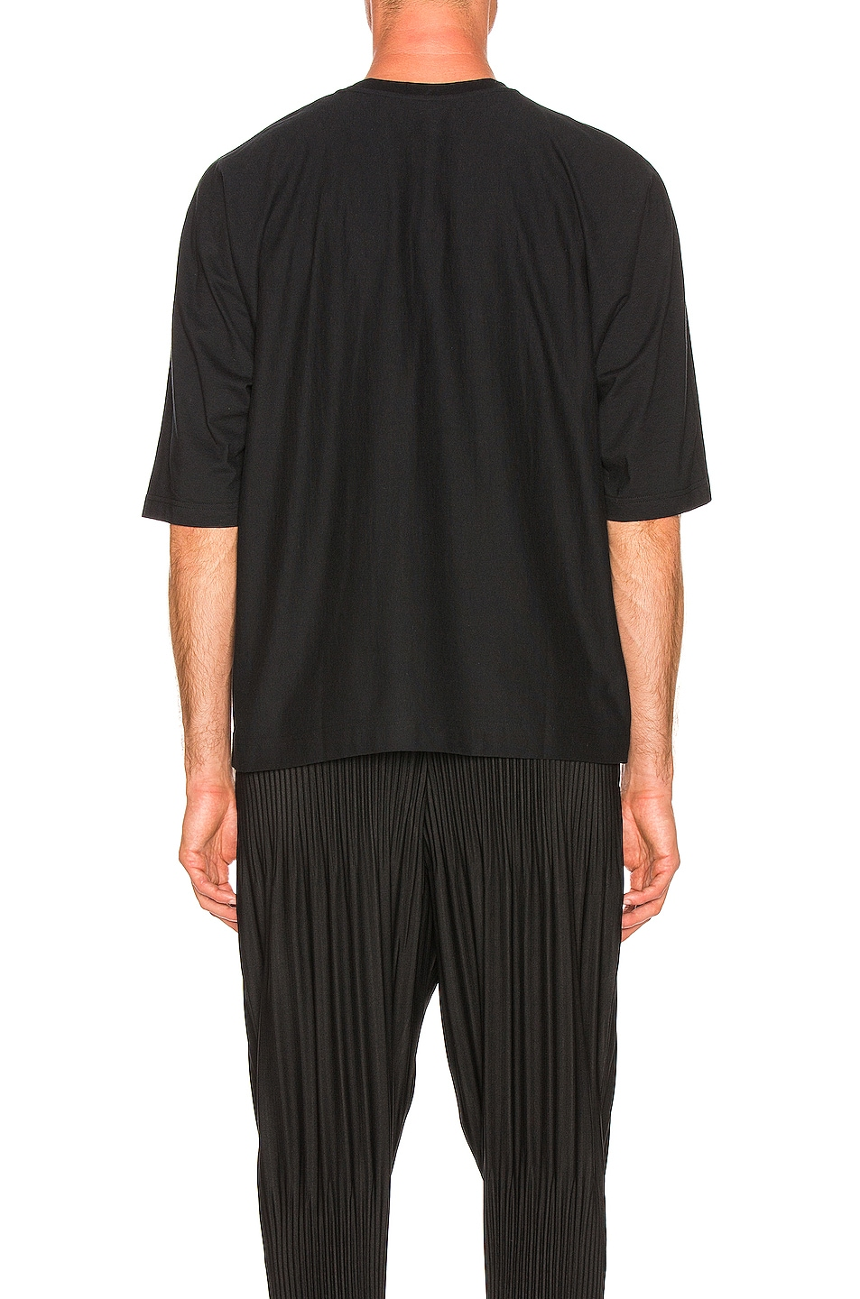Image 3 of Issey Miyake Homme Plisse Release T in Black