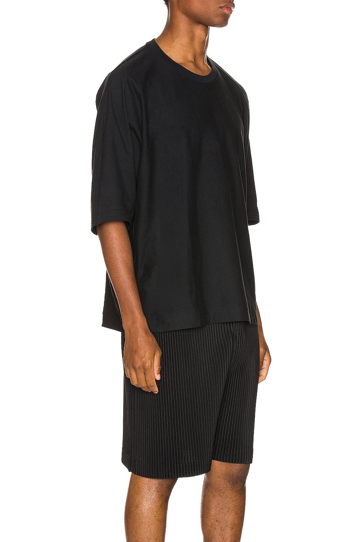 Image 2 of Issey Miyake Homme Plisse Release Tee in Black