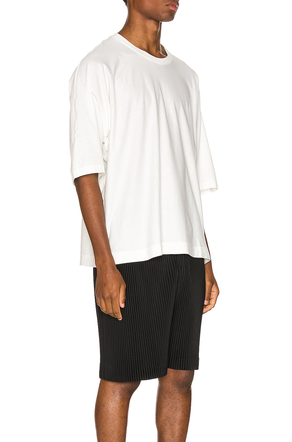 Image 2 of Issey Miyake Homme Plisse Release Tee in White