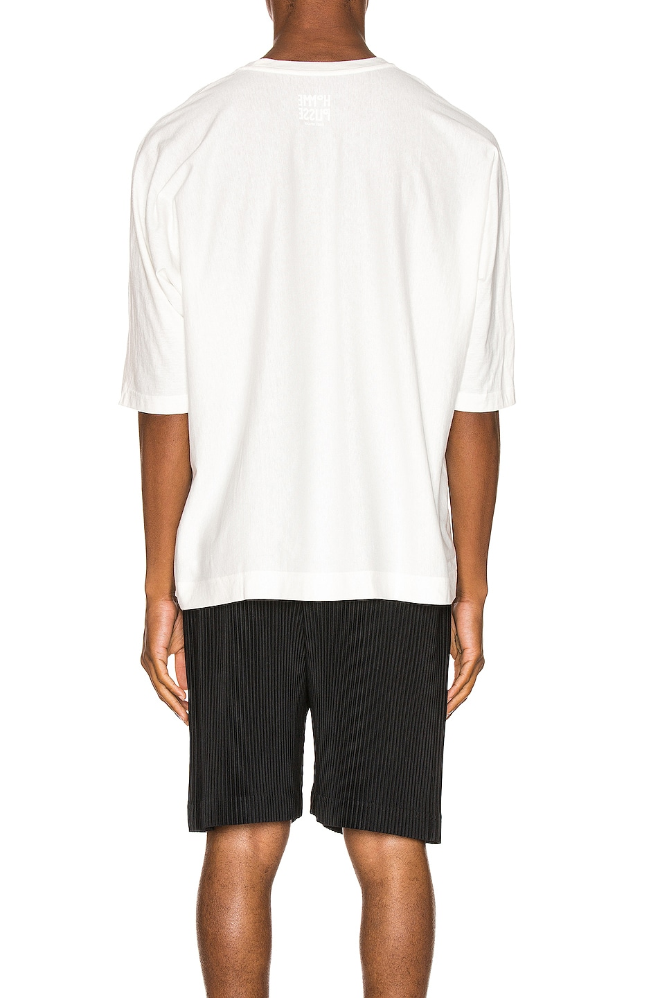 Image 3 of Issey Miyake Homme Plisse Release Tee in White
