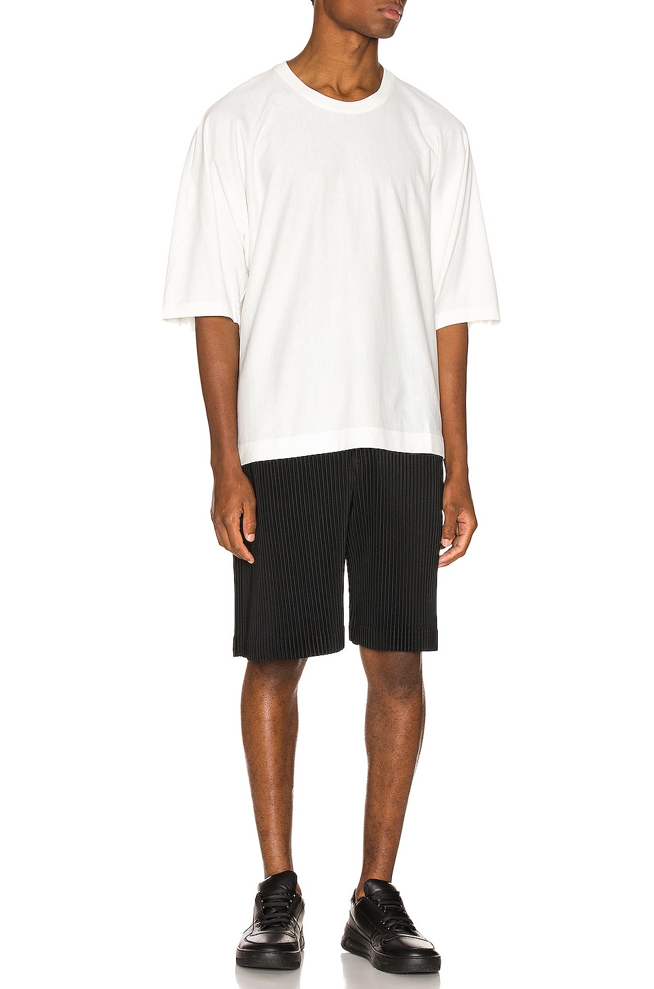 Image 4 of Issey Miyake Homme Plisse Release Tee in White