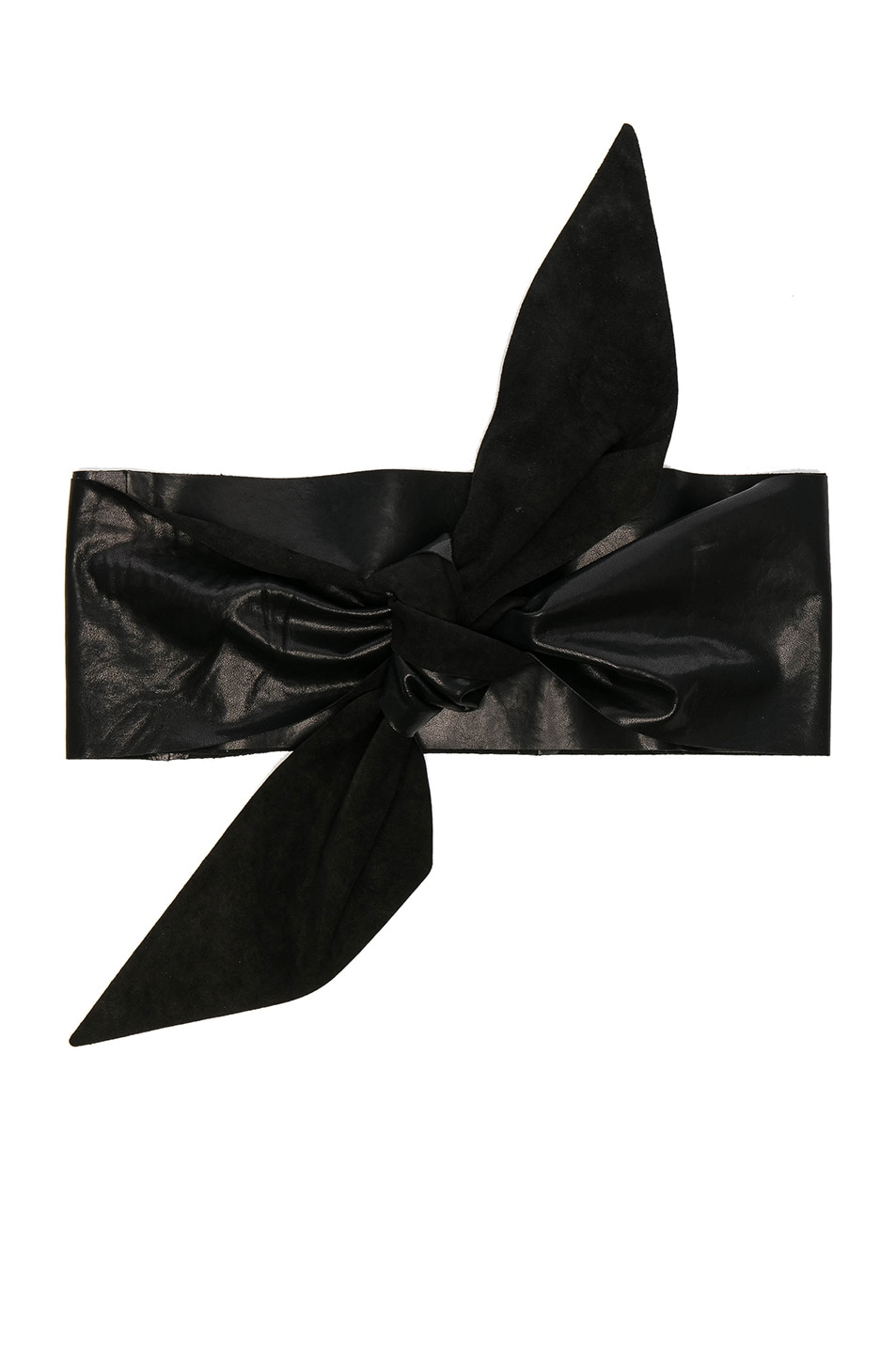 Image 1 of IRO Sims Belt in Black Leather