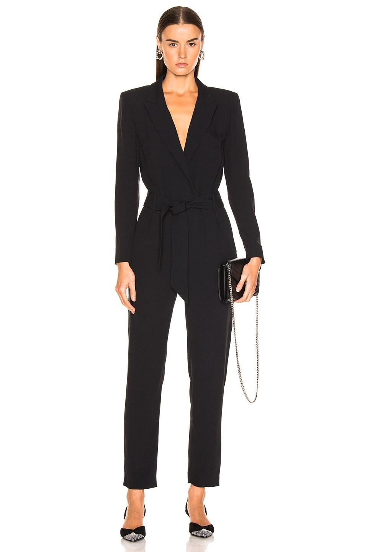 Image 1 of IRO Delicate Jumpsuit in Black