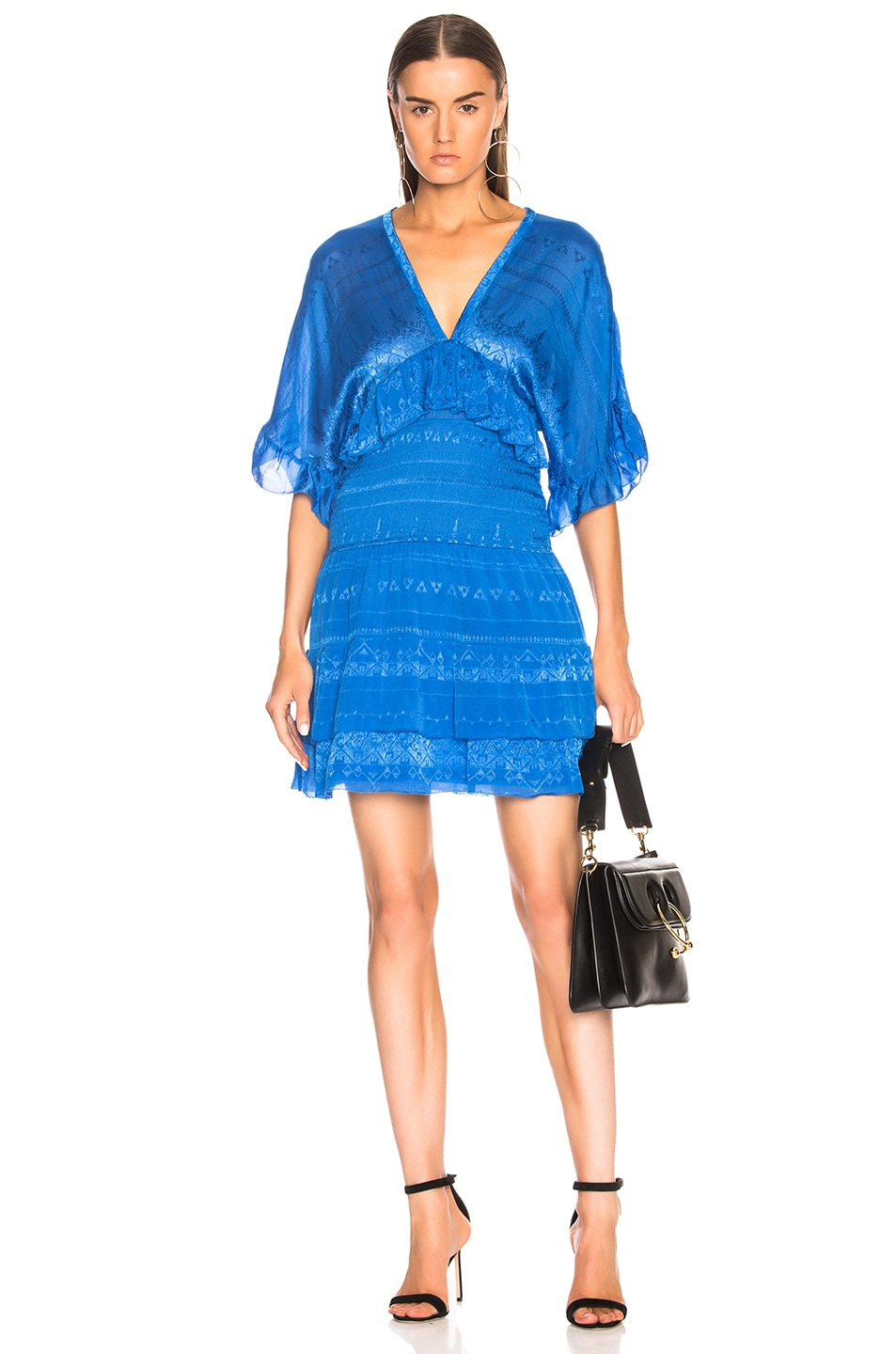 Image 1 of IRO Stacy Dress in Blue Denim