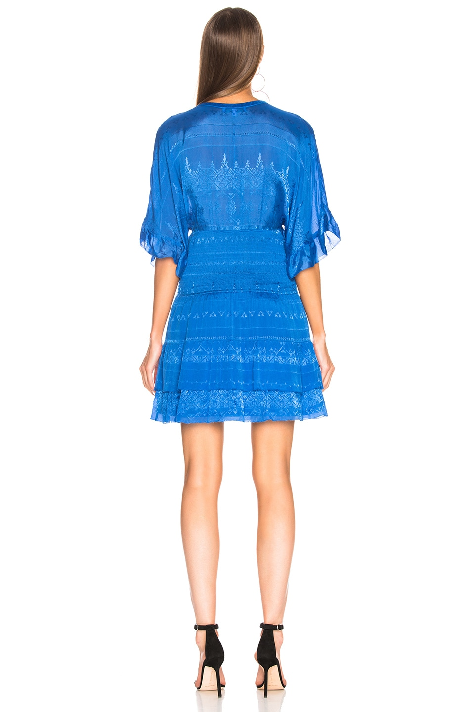 Image 3 of IRO Stacy Dress in Blue Denim
