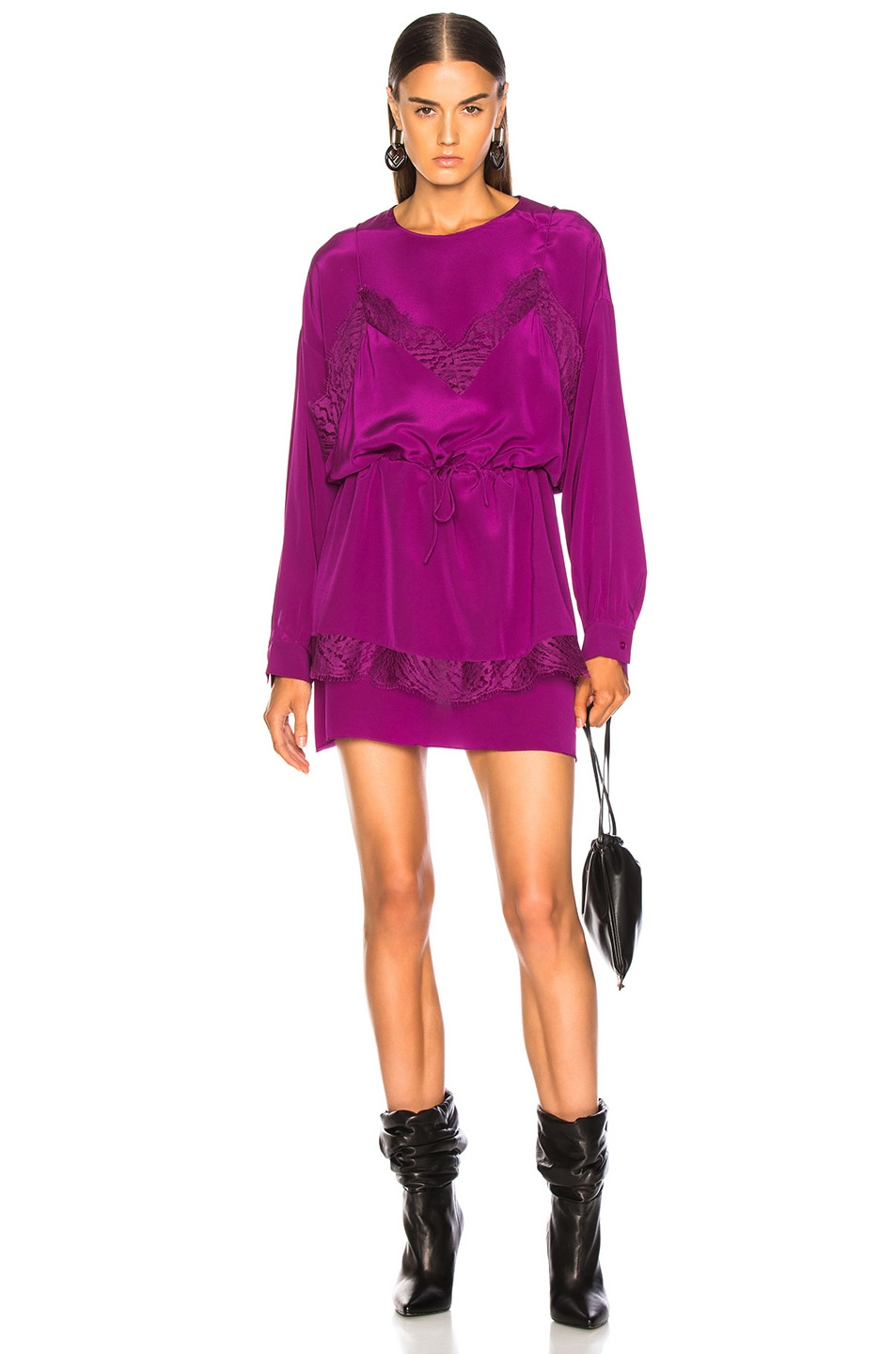 Image 1 of IRO Hassle Dress in Purple