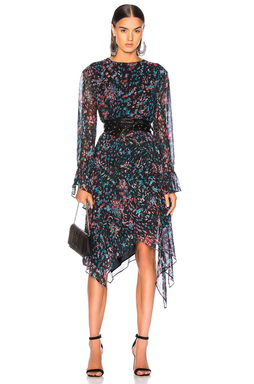Image 1 of IRO Blank Dress in Black