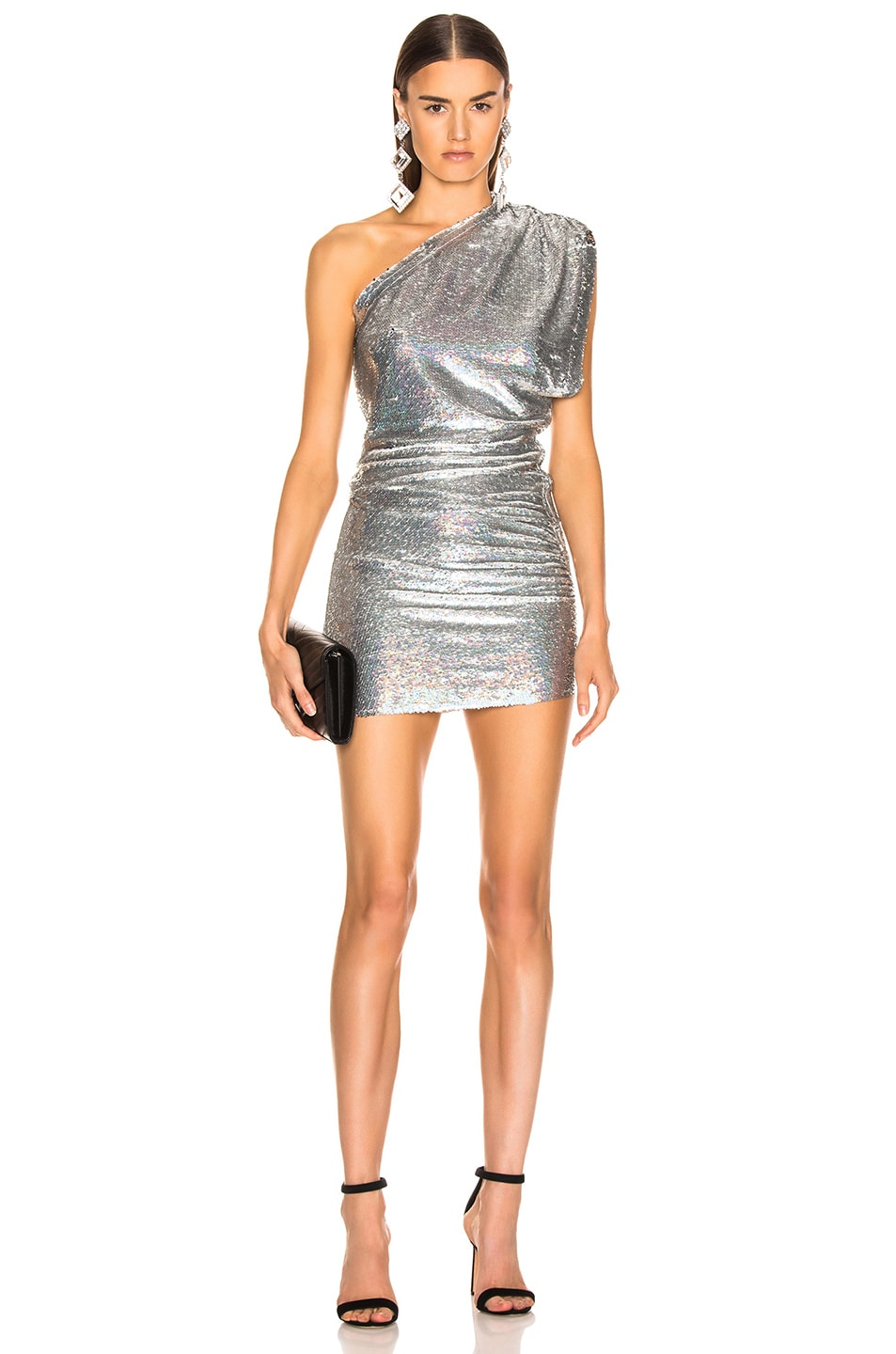 Image 1 of IRO Exciter Dress in Silver