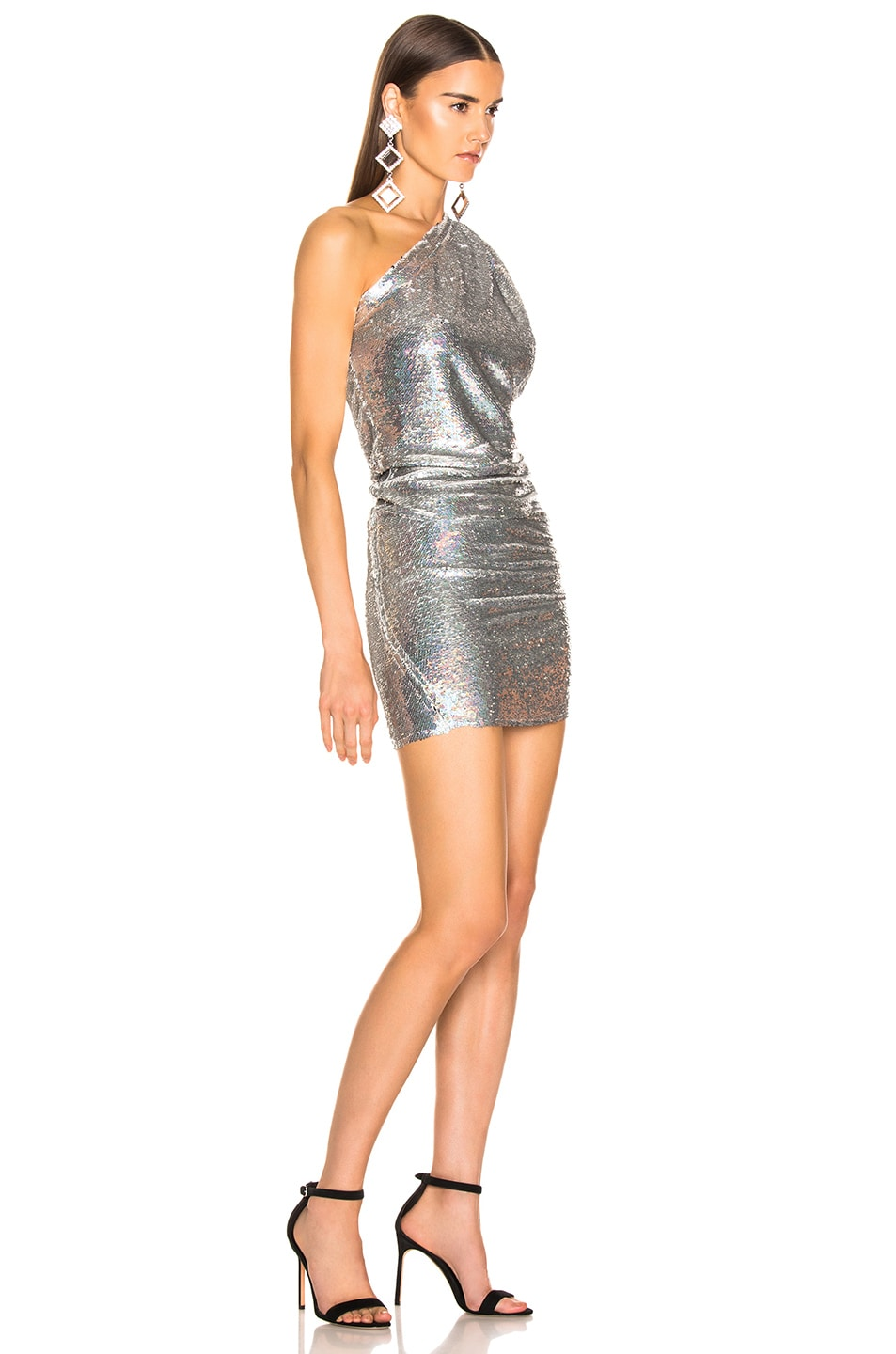 Image 2 of IRO Exciter Dress in Silver