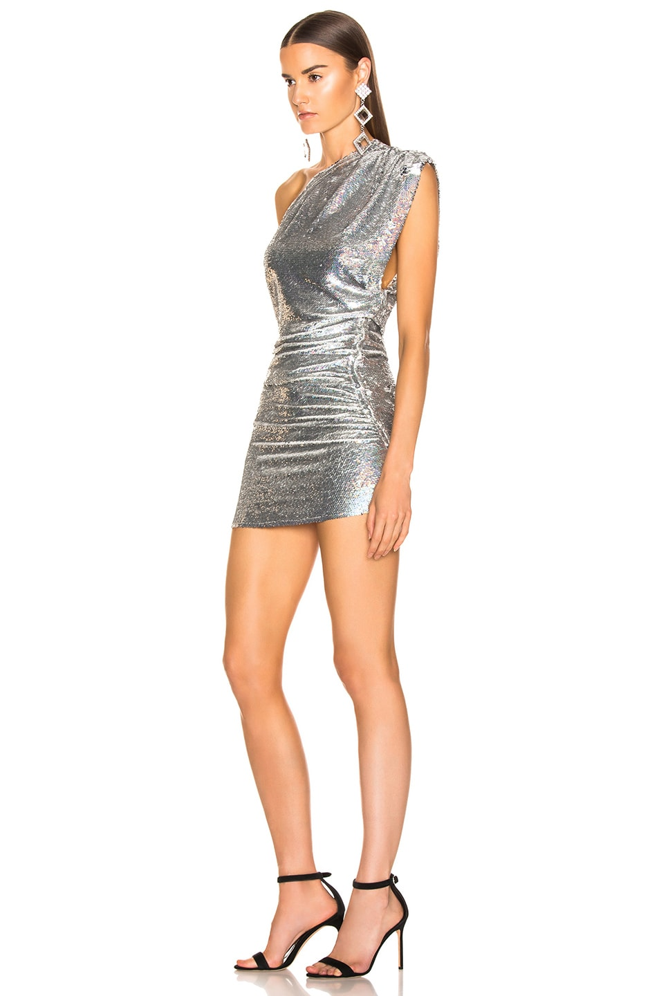 Image 3 of IRO Exciter Dress in Silver