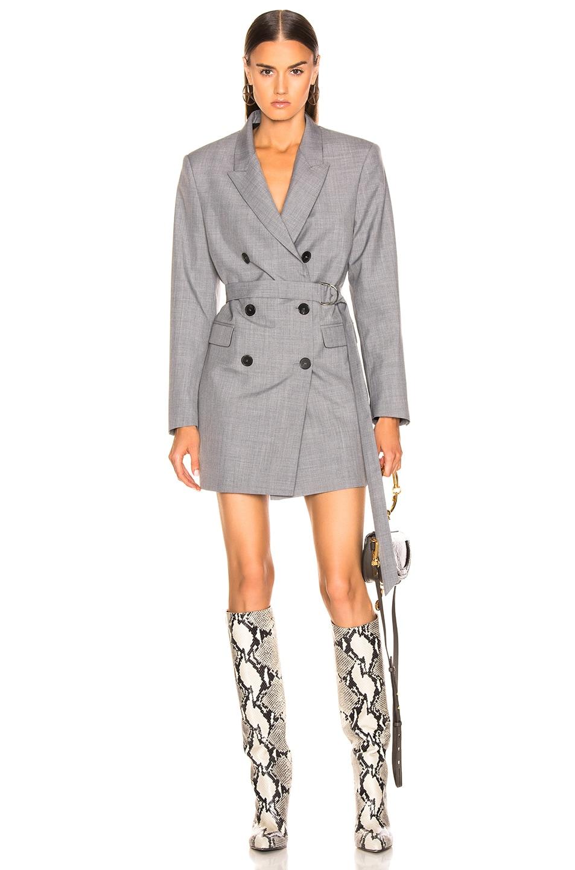 Image 1 of IRO Dignify Blazer Dress in Grey