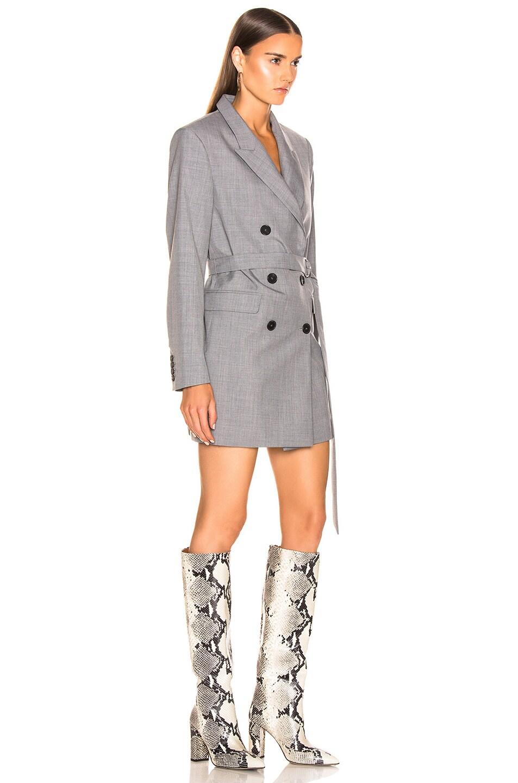 Image 2 of IRO Dignify Blazer Dress in Grey