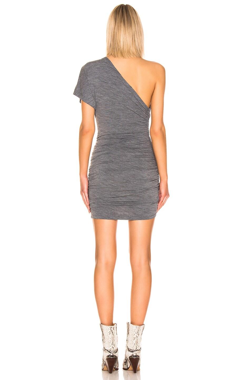 Image 3 of IRO Swift Mini Dress in Grey