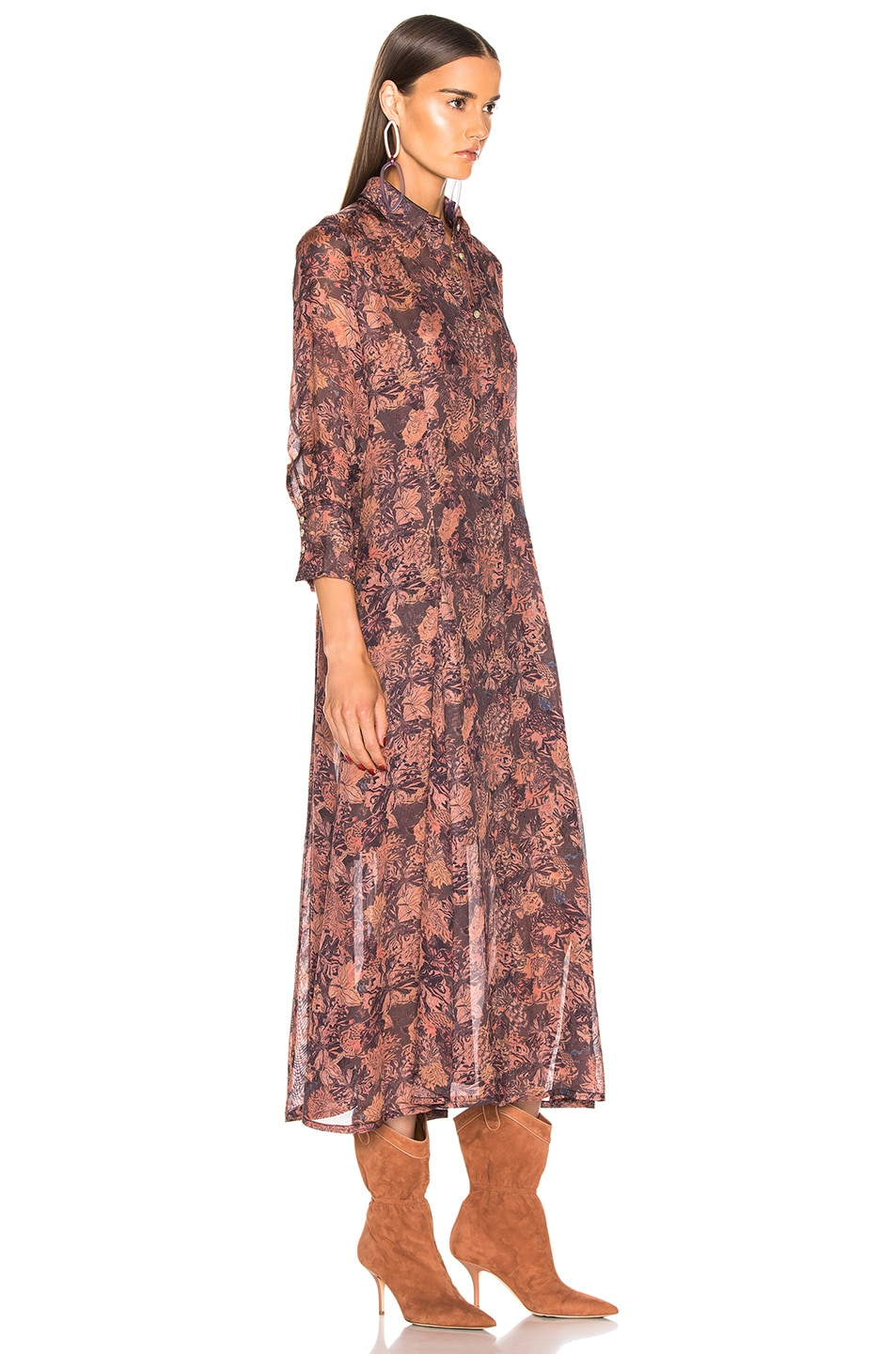 Image 3 of IRO Maddie Dress with Duster in Black Print
