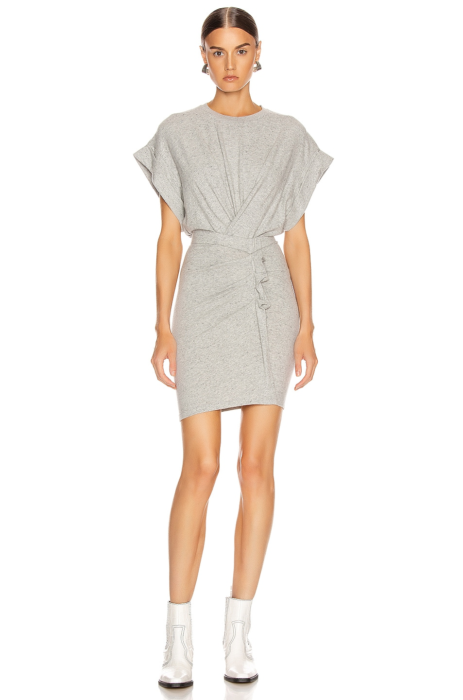 Image 1 of IRO Wynot Dress in Mixed Grey