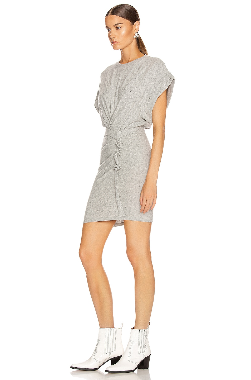 Image 3 of IRO Wynot Dress in Mixed Grey