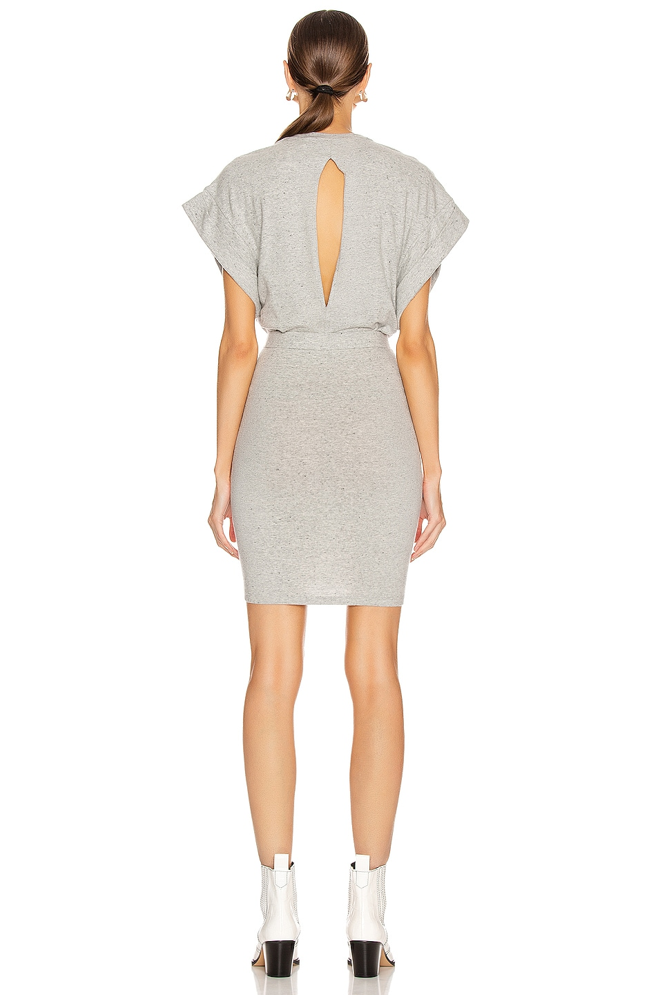 Image 4 of IRO Wynot Dress in Mixed Grey