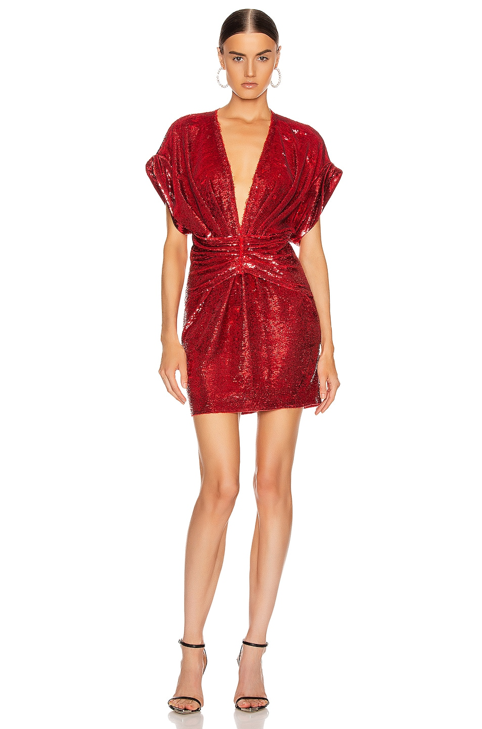 Image 1 of IRO Lilou Dress in Red