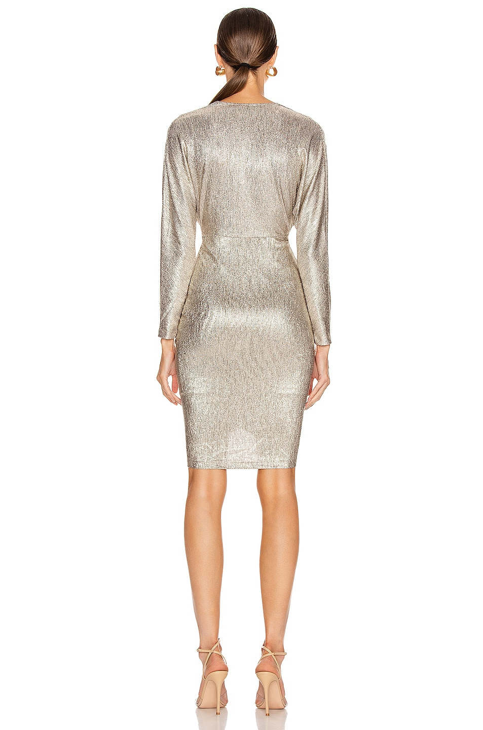 Image 3 of IRO City Dress in Gold