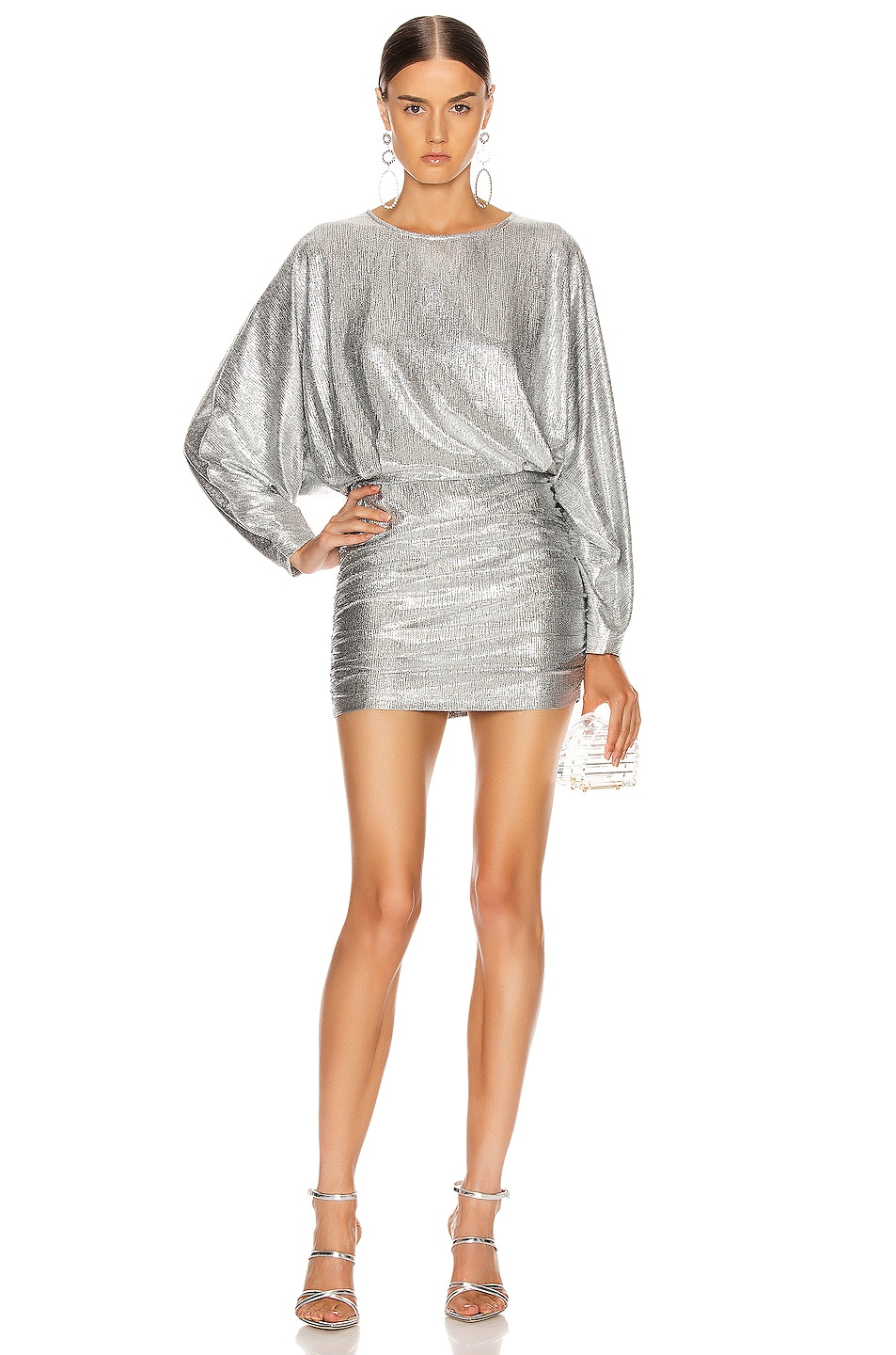 Image 1 of IRO Silar Dress in Silver