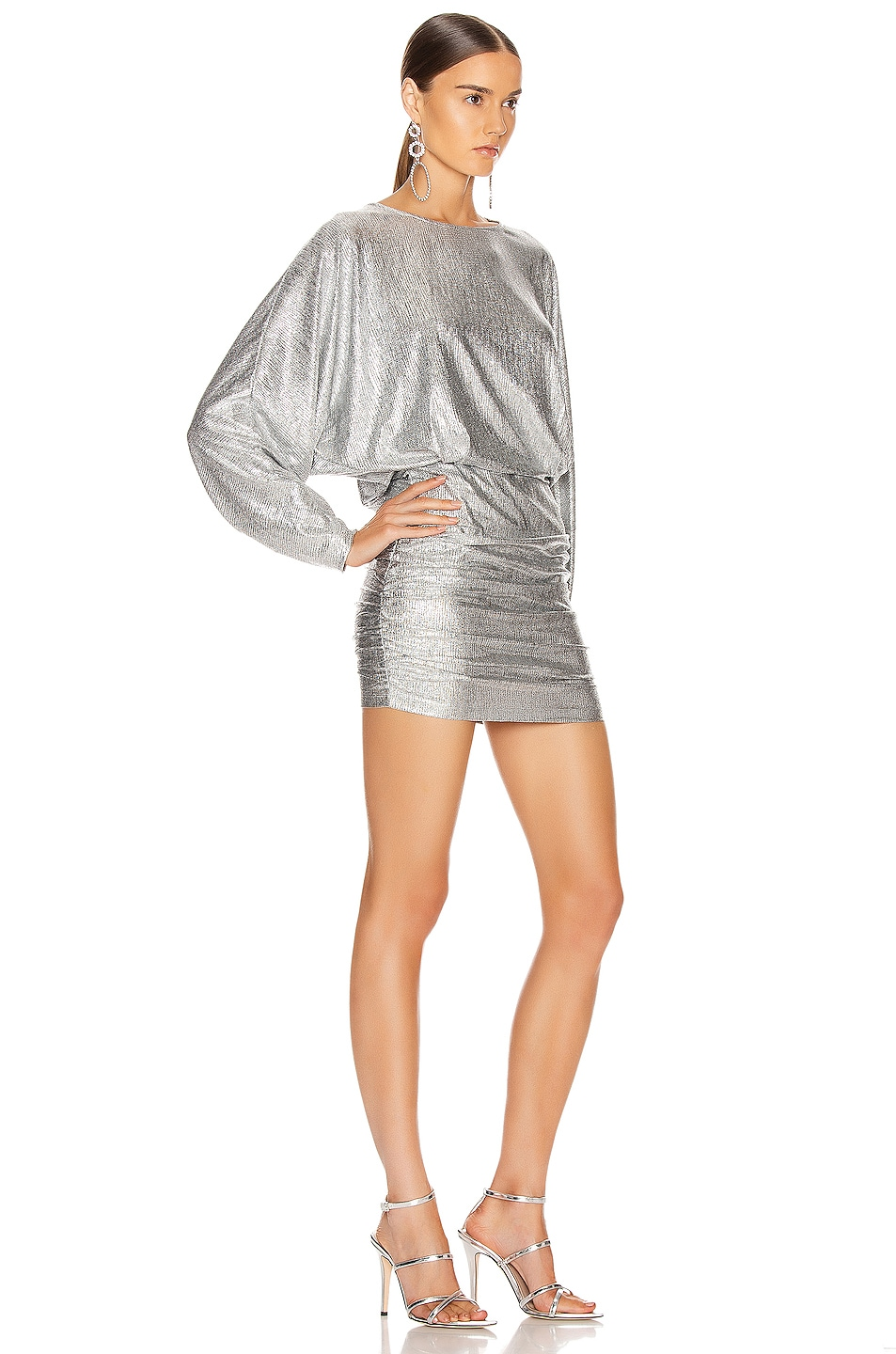 Image 2 of IRO Silar Dress in Silver
