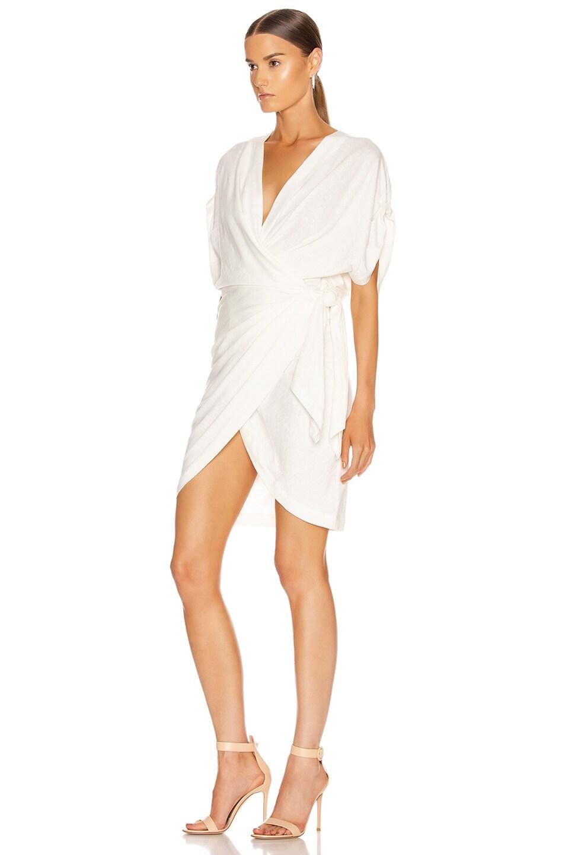 Image 3 of IRO Gidya Dress in Ecru