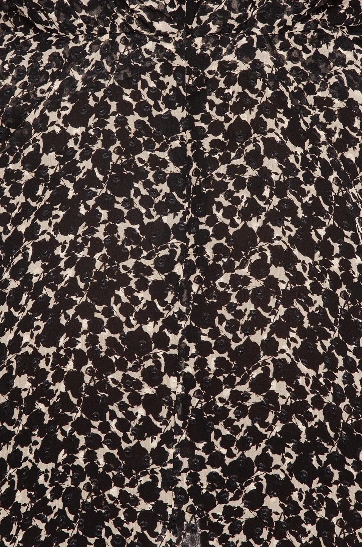 Image 4 of IRO Victoria Dress in Black & Ecru
