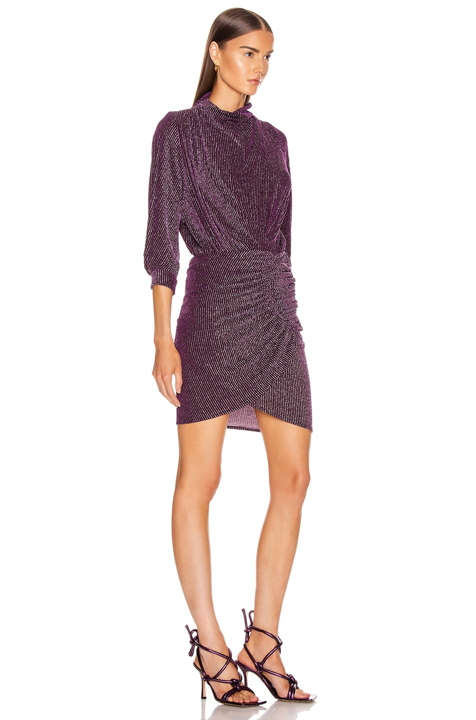 Image 2 of IRO Absalon Dress in Purple