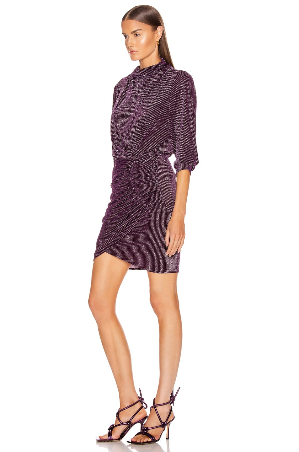 Image 3 of IRO Absalon Dress in Purple