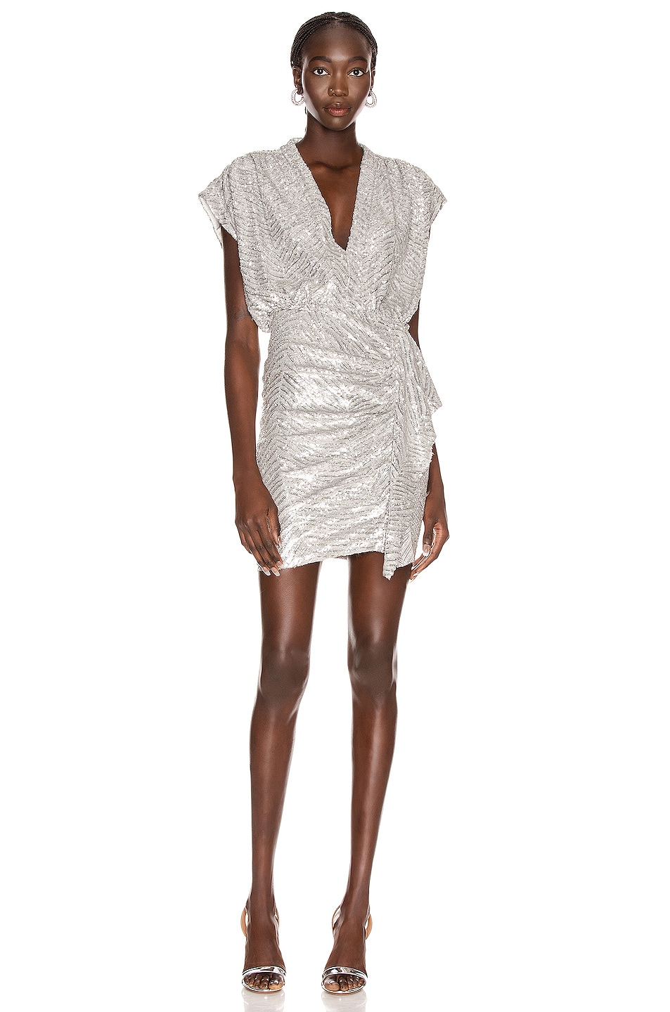 Image 1 of IRO Sagria Dress in Silver