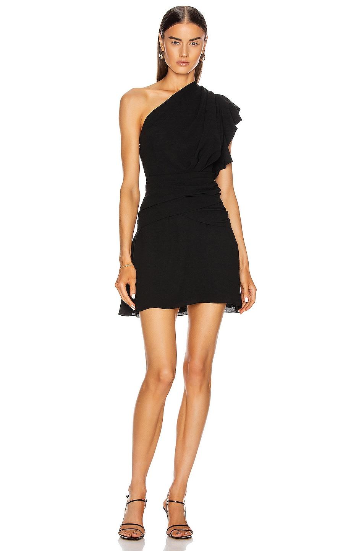 Image 1 of IRO Bonzac Dress in Black