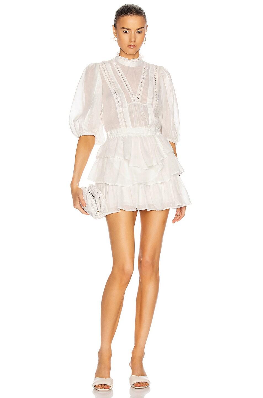 Image 1 of IRO Carlotta Dress in White