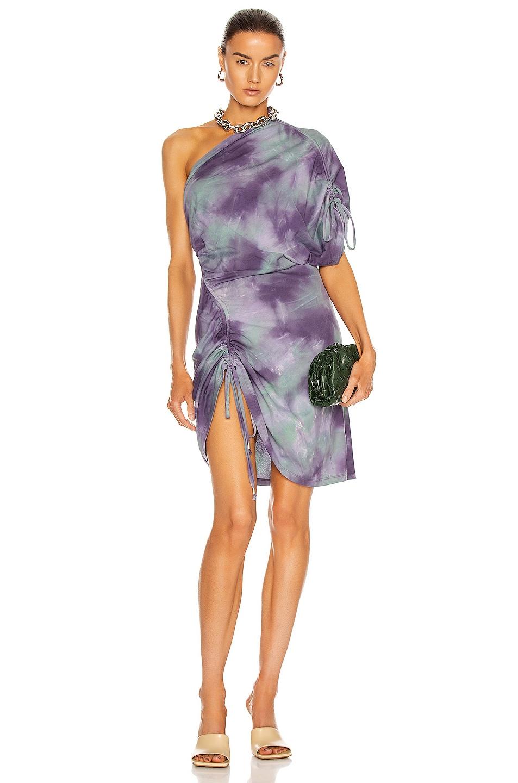 Image 1 of IRO Tarolie Dress in Purple & Green