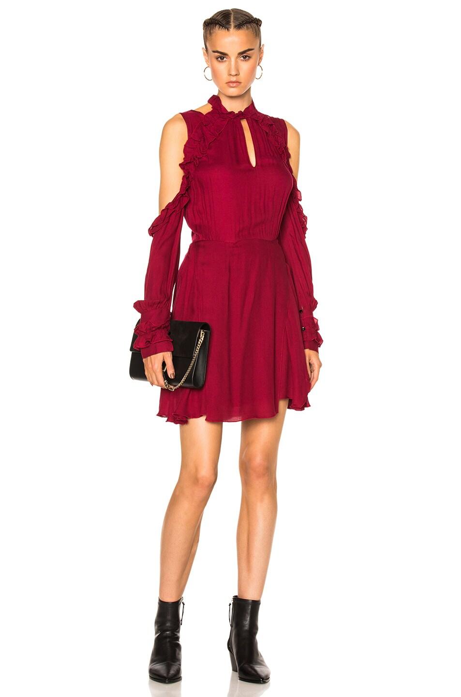 Image 1 of IRO Hanie Dress in Wine