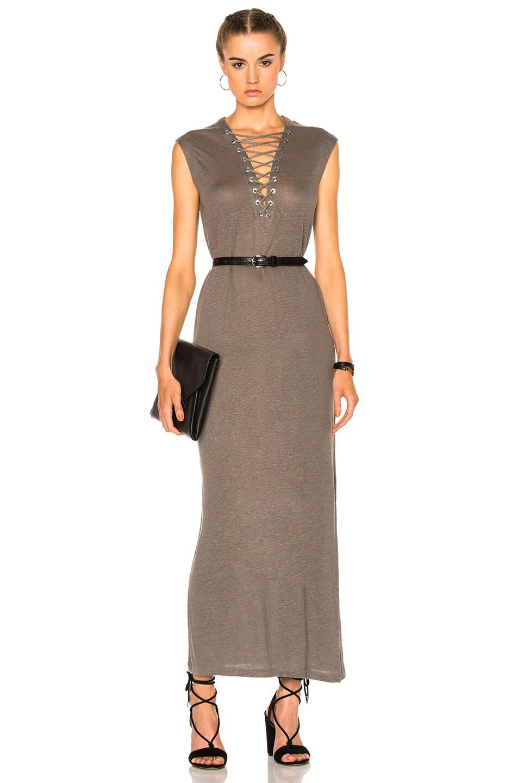 Image 1 of IRO Daisy Dress in Stone Gray