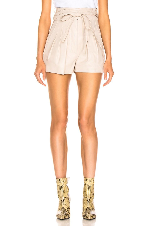 Image 1 of IRO Tenacity Shorts in Sand