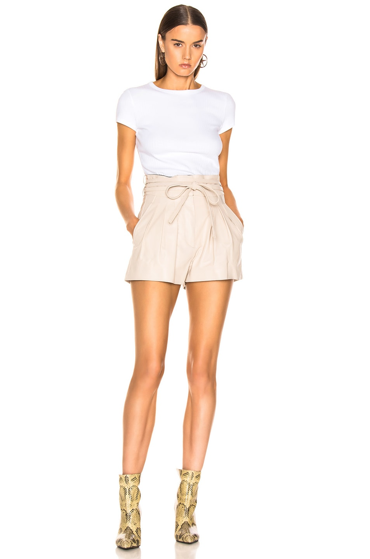Image 4 of IRO Tenacity Shorts in Sand
