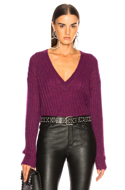 Image 1 of IRO Wall Sweater in Magenta Purple