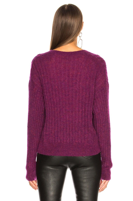 Image 4 of IRO Wall Sweater in Magenta Purple