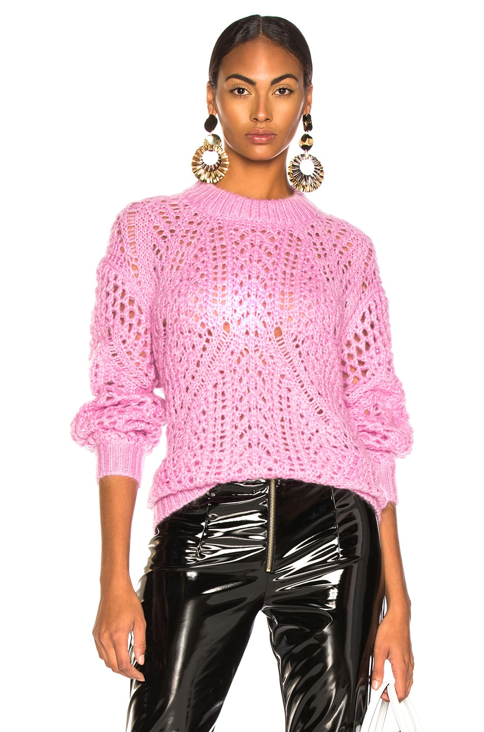 Image 1 of IRO Limit Sweater in Dusty Pink