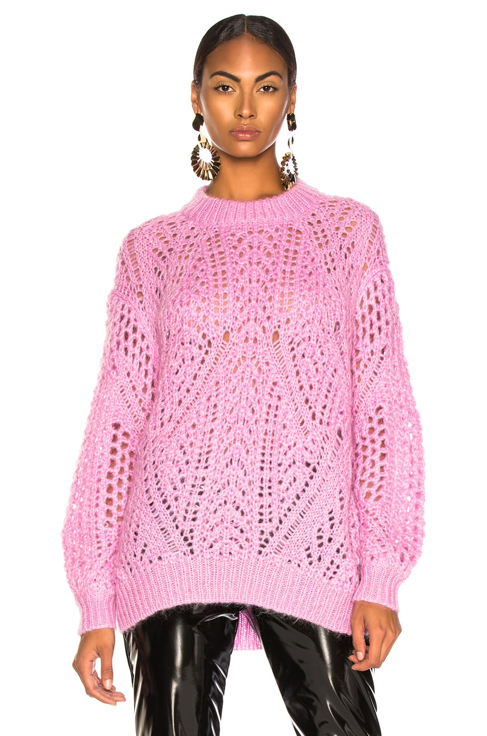 Image 2 of IRO Limit Sweater in Dusty Pink