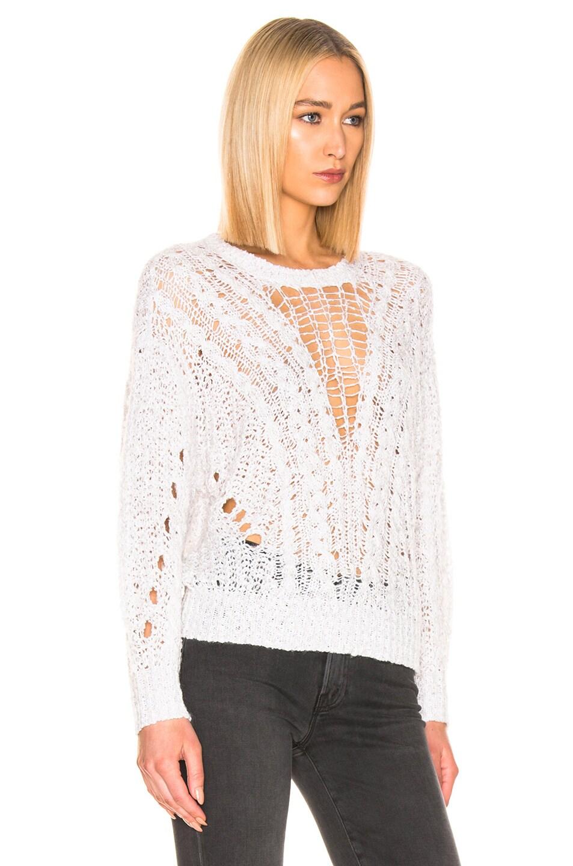 Image 2 of IRO Sunlit Sweater in White