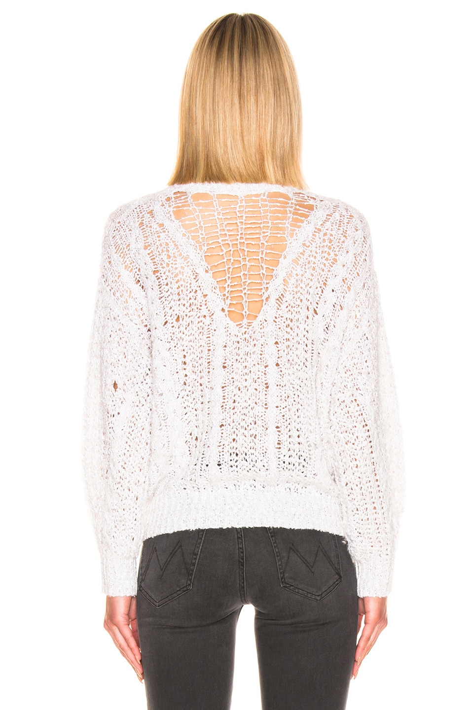 Image 3 of IRO Sunlit Sweater in White