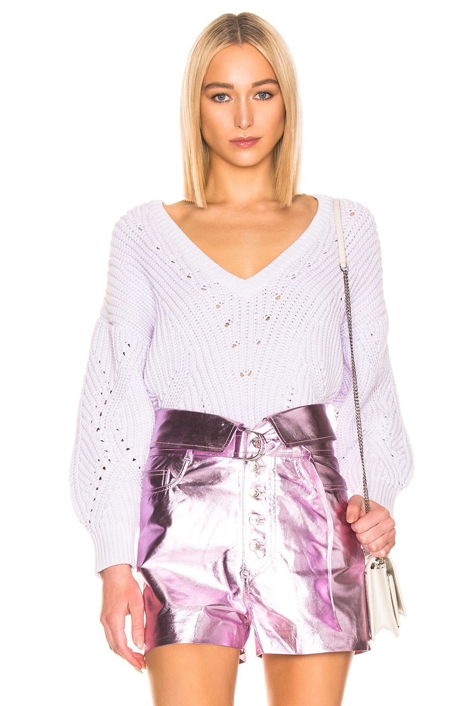 Image 1 of IRO Wealthy Sweater in Light Purple