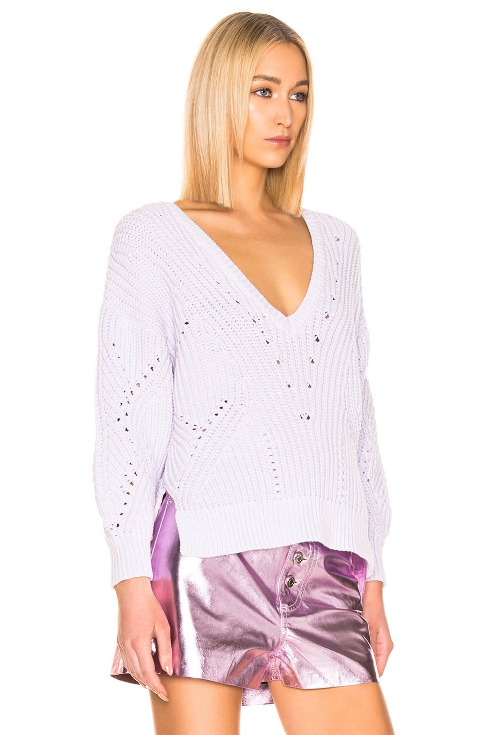 Image 2 of IRO Wealthy Sweater in Light Purple