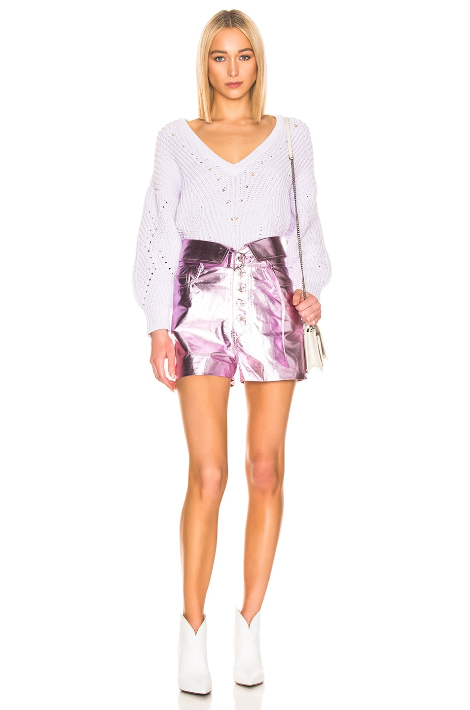 Image 4 of IRO Wealthy Sweater in Light Purple