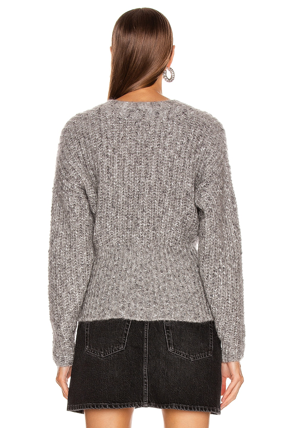 Image 3 of IRO Kyle Sweater in Mixed Grey
