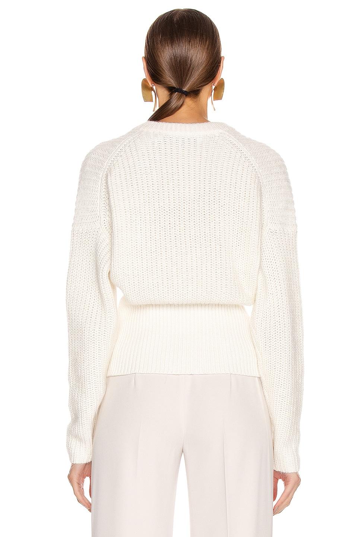 Image 3 of IRO Marshall Sweater in Chalk